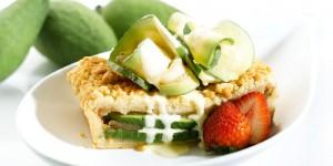 Apple and feijoa dessert