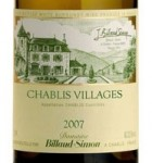 Domaine Billaud-Simon Chablis 2007 France
