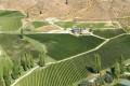 Felton Road vineyard, aerial view