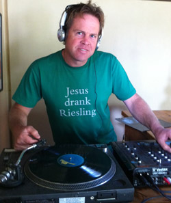 If you think his riesling are great, wait to you try his taste in music!