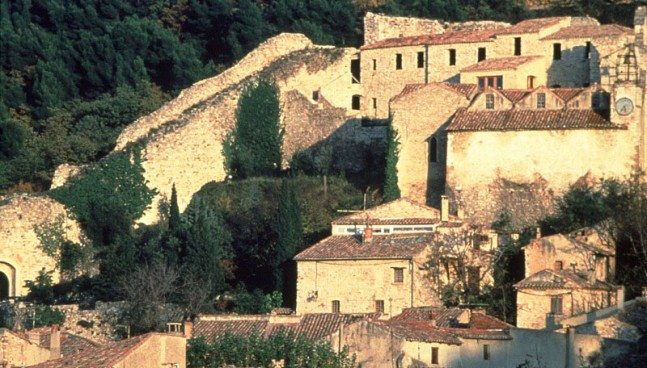 Gigondas village, France
