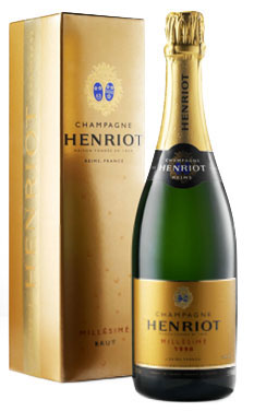 Henriot Millesime Champagne 1998 with box