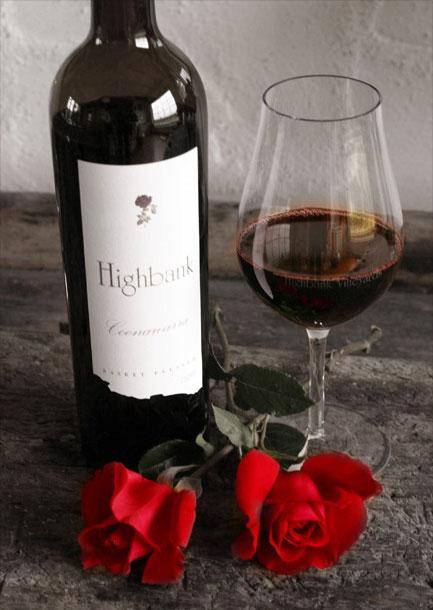 Highbank Coonawarra wine, Australia