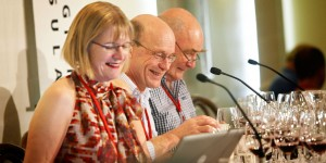Jancis Robinson, Frederic & James at Mornington Peninsula International Pinot Noir Celebration, Australia