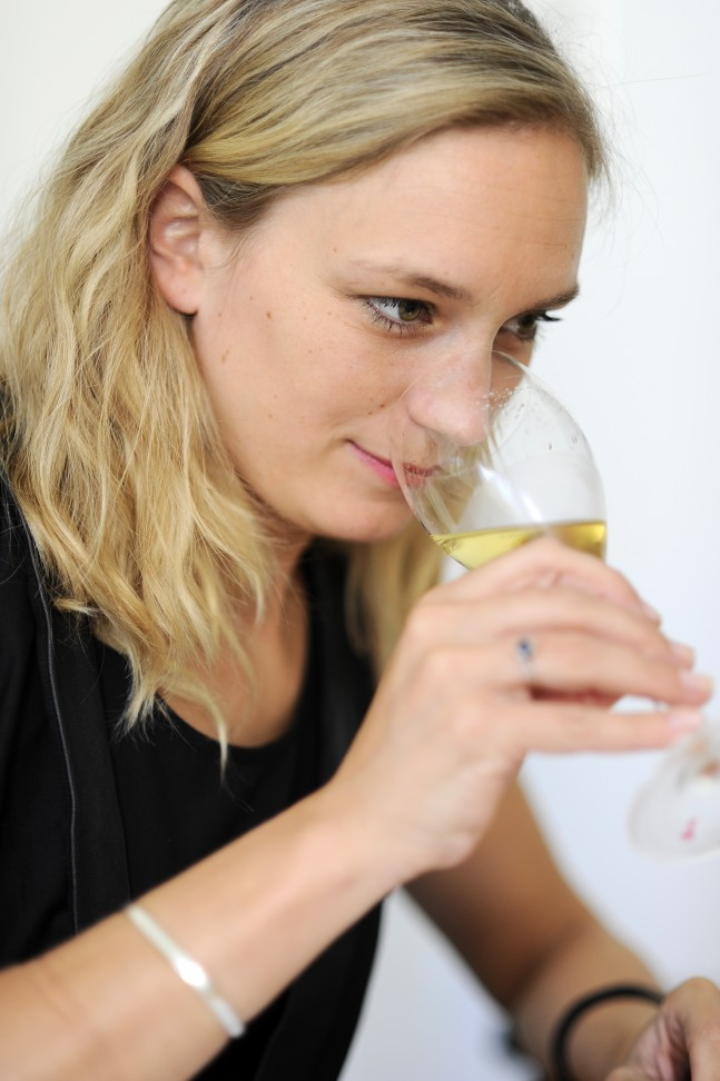 Lotte Wolf - Sommelier at Restaurant Oud Sluis, The Netherlands www.oudsluis.nl