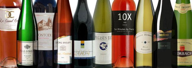 Many bottles of wines