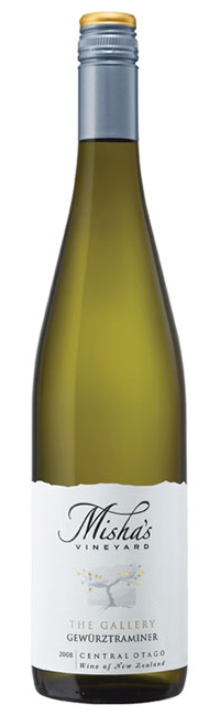 Misha Gewurztraminer 2008, Central Otago, New Zealand