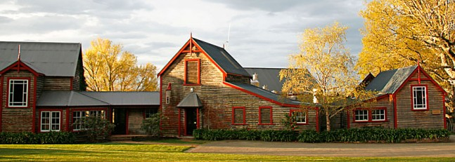 Neudorf winery front, New Zealand