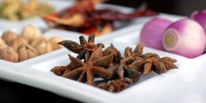 Sarong Restaurant spices, Bali