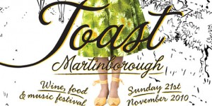 Toast Martinborough 2010, New Zealand