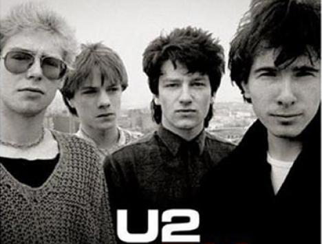 U2 Rock & Roll music band
